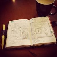 手で書くということの価値、ブログの日記にはできないものがそこにあります。と、サワさん。