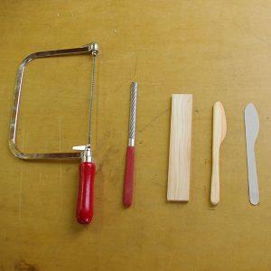 今回使う道具はこれだけ。気軽にご参加いただける入門編です。