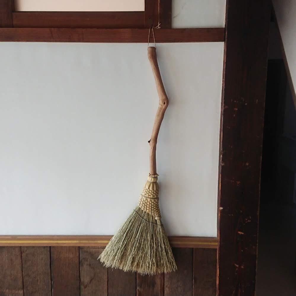 【自分仕様の「枝のミニ手箒」を作ってもらうオーダー会】