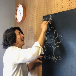 講師のTOKIIROヨシノブさん。年々言動が植物化しているのが気になります。
