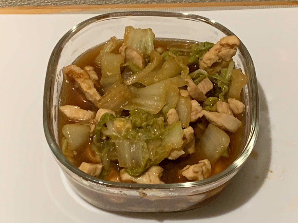 トロトロ煮がアレンジ後のものしかなかったんですが、残ったトロトロ煮に筍とかシーフードミックスいれて中華丼風にしました!ということです。美味しそう…